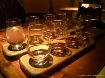 Two Bourbon Flights